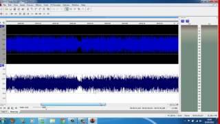 como eliminar voz da musica sound forger