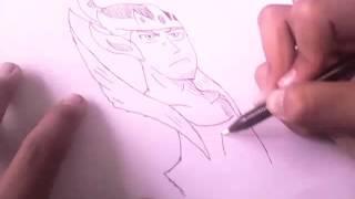 rivaldi drawing gatotkaca
