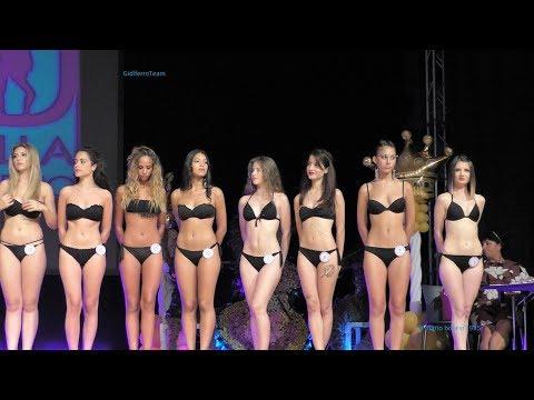 Miss Città di Marghera 2017 Sfilata in Bikini Abito Premiazioni