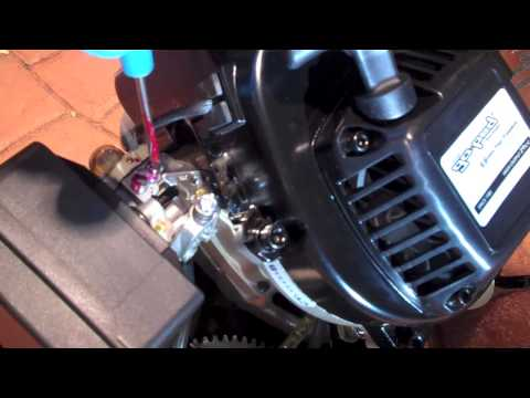 How to Adjust Go-Ped Carburetor (& other small 2-cycle