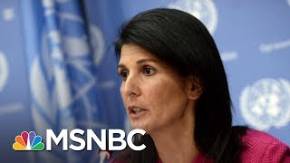 Nikki Haley Claims Cabinet Members Tried To Recruit Her To 'Save The Country' By Undermining Trump