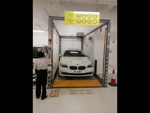 Mechanical Parking System by Best Vision Group Limited - Double-Deck Parking