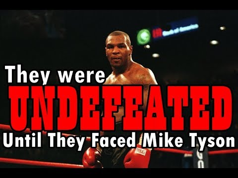 Mike Tyson vs 6 UNDEFEATED Opponents