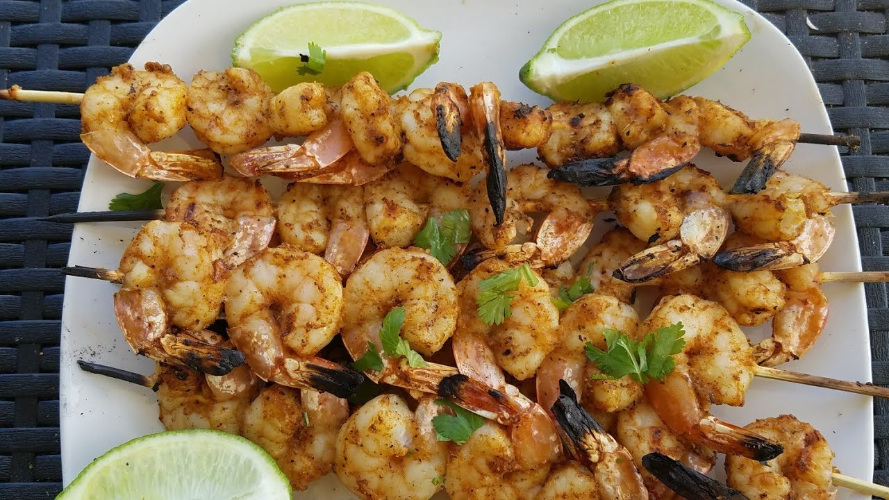 how to make grilled shrimp