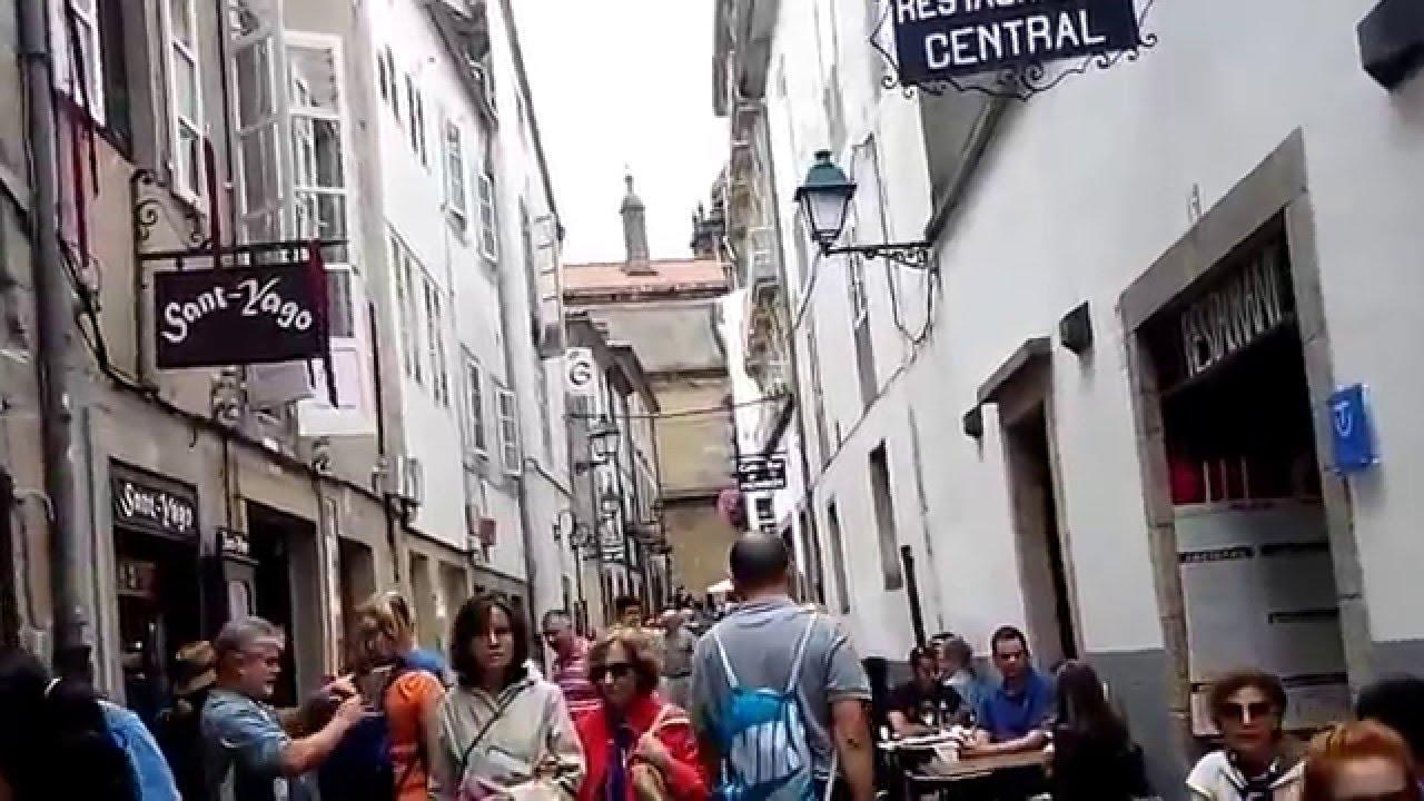 Santiago de compostela paseando por la calle rai a a - Arrokabe arquitectos santiago de compostela ...