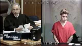 Justin Bieber Arrested in Miami for DUI and Drug Racing 2014