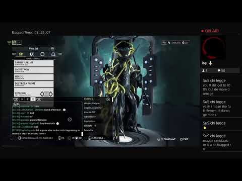 Leveling Plague Kripath | Done With Precision (Warframe ...