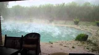 Hail storm in Phoenix, AZ ~ October 5, 2010