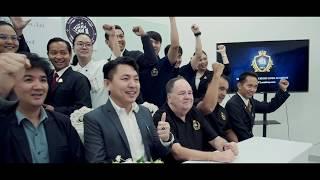 พิธีลงนามข้อตกลงให้เป็นสถานฝึกอบรมอาชีพเรือสำราญ THCL academy MOU with  CTI Thailand 29-11-62