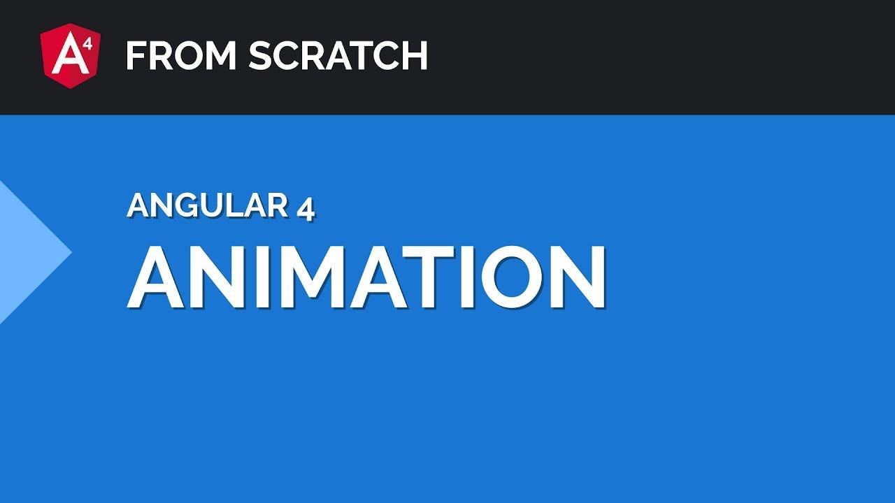 Angular 4 Animation Tutorial