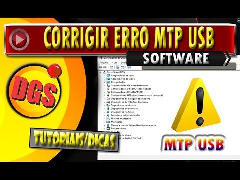 Como Corrigir O Erro MTP USB Device Falha Ao Instalar O Dispositivo