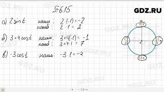 № 6.15- Алгебра 10-11 класс Мордкович