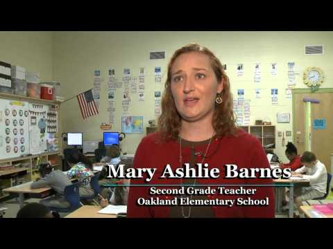 2015 Teacher of the Year Finalist Mary Ashlie Barnes, Oakland Elementary