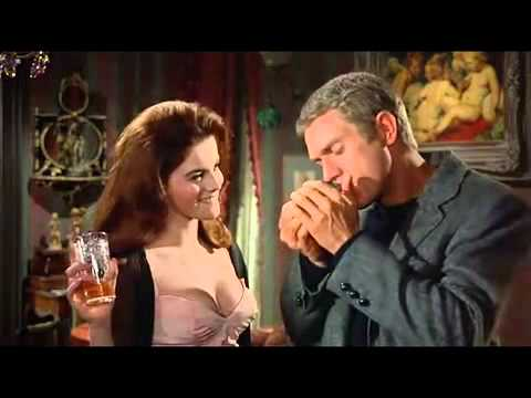 Steve McQueen and AnnMargret in The Cincinnati Kid