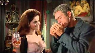 Steve McQueen and Ann-Margret in The Cincinnati Kid