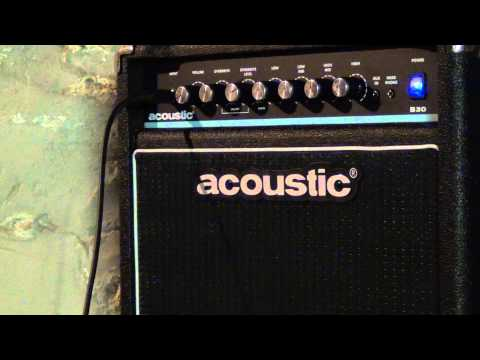 Acoustic B30 Bass Amp Unboxing / Review