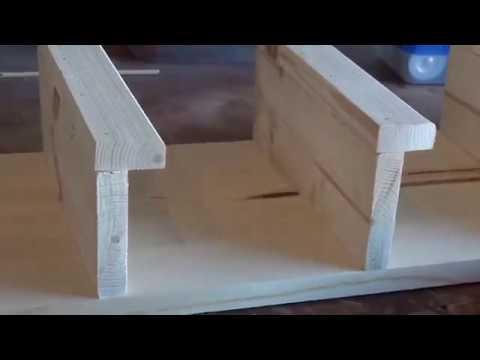 BUILD A RUSTIC TOWEL RACK EASY DIY PROJECT