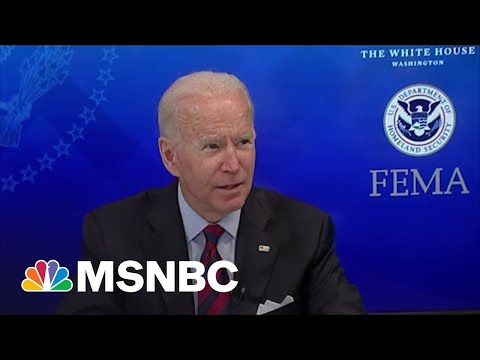 Biden: We'll Give Those Impacted By Ida 'Any Help You're Going To Need'