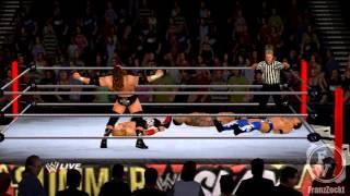 Fatal-4-Way Last Man Standing Match | Let's Play WWE '12 Road to Wrestlemania [Deutsch] | PART #027