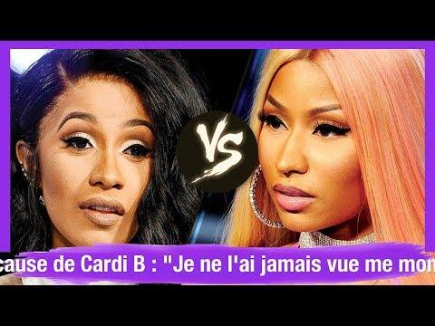 """Nicki Minaj En Pleurs à Cause De Cardi B : """"Je Ne L'ai Jamais Vue Me Montrer Un Véritable Amour"""""""