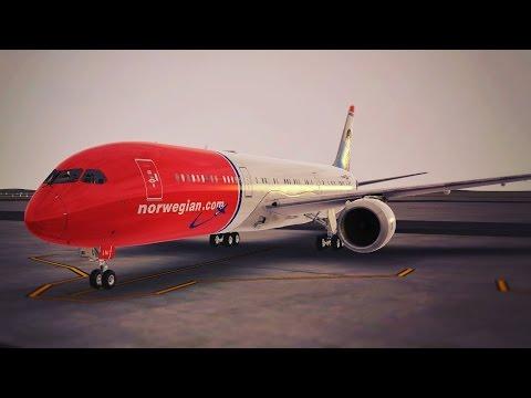 Infinite Flight Boeing B787 Norwegian Air Shuttle KLAX - KSAN