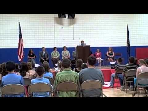 N-B Video: Highlights from the Southern Wells Elementary School  sixth-grade Promotion Program