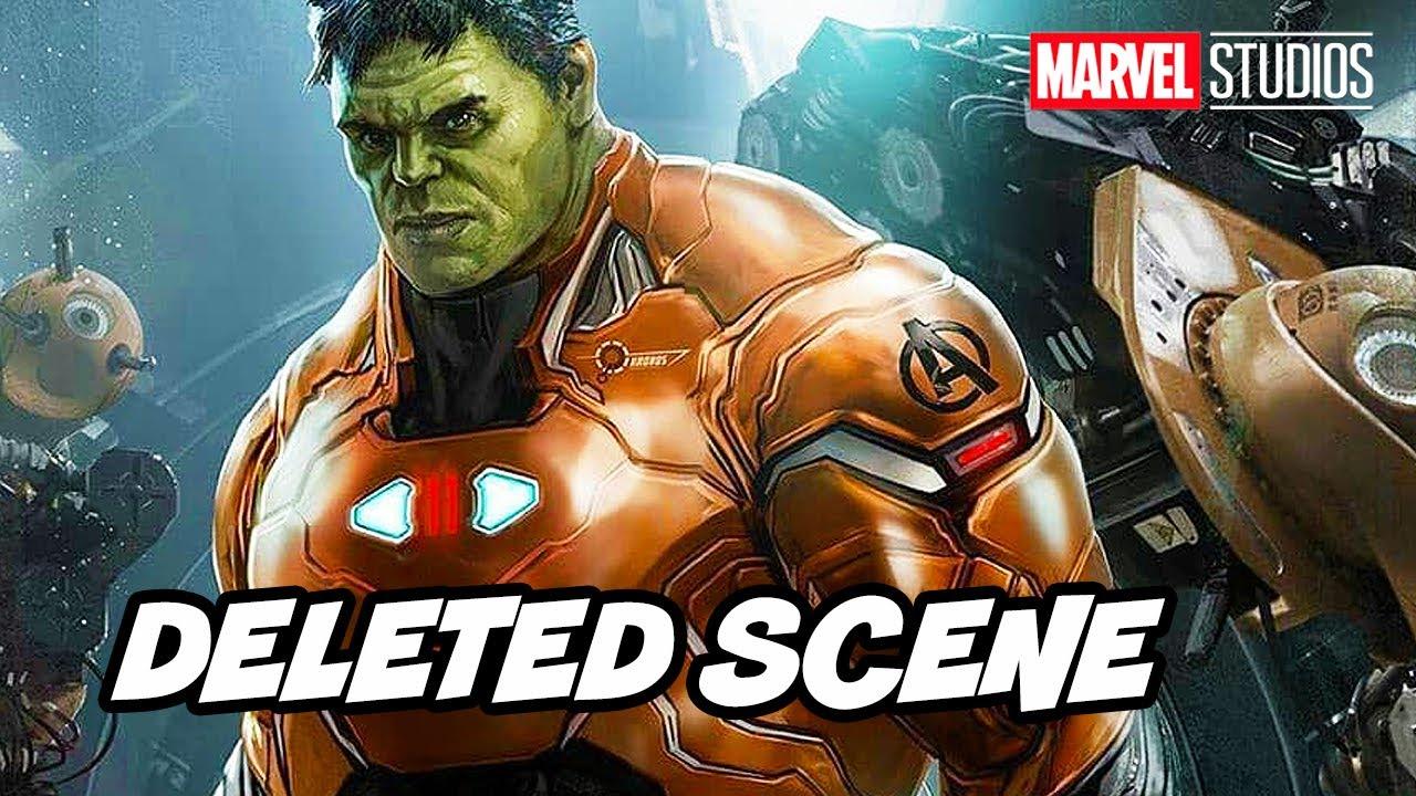 Hulk Smash Iron Man Deleted Scene - Avengers Endgame Marvel Phase 4  Breakdown