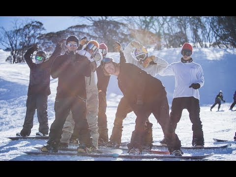 2017 - The Norwegian snowboard team is back down under.