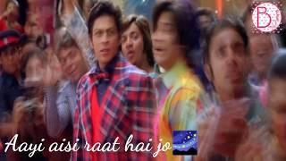 Aayi aisi raat hai jo I Aankhon Mein Teri - Om Shanti Om whats app video