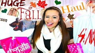 HUGE Fall Clothing Haul!(H&M,Pacsun&More!)