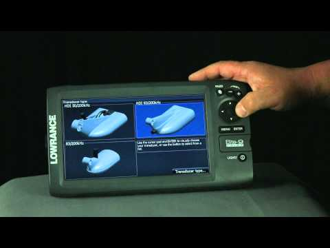 How to Select a Transducer Type on Lowrance® Elite™ units