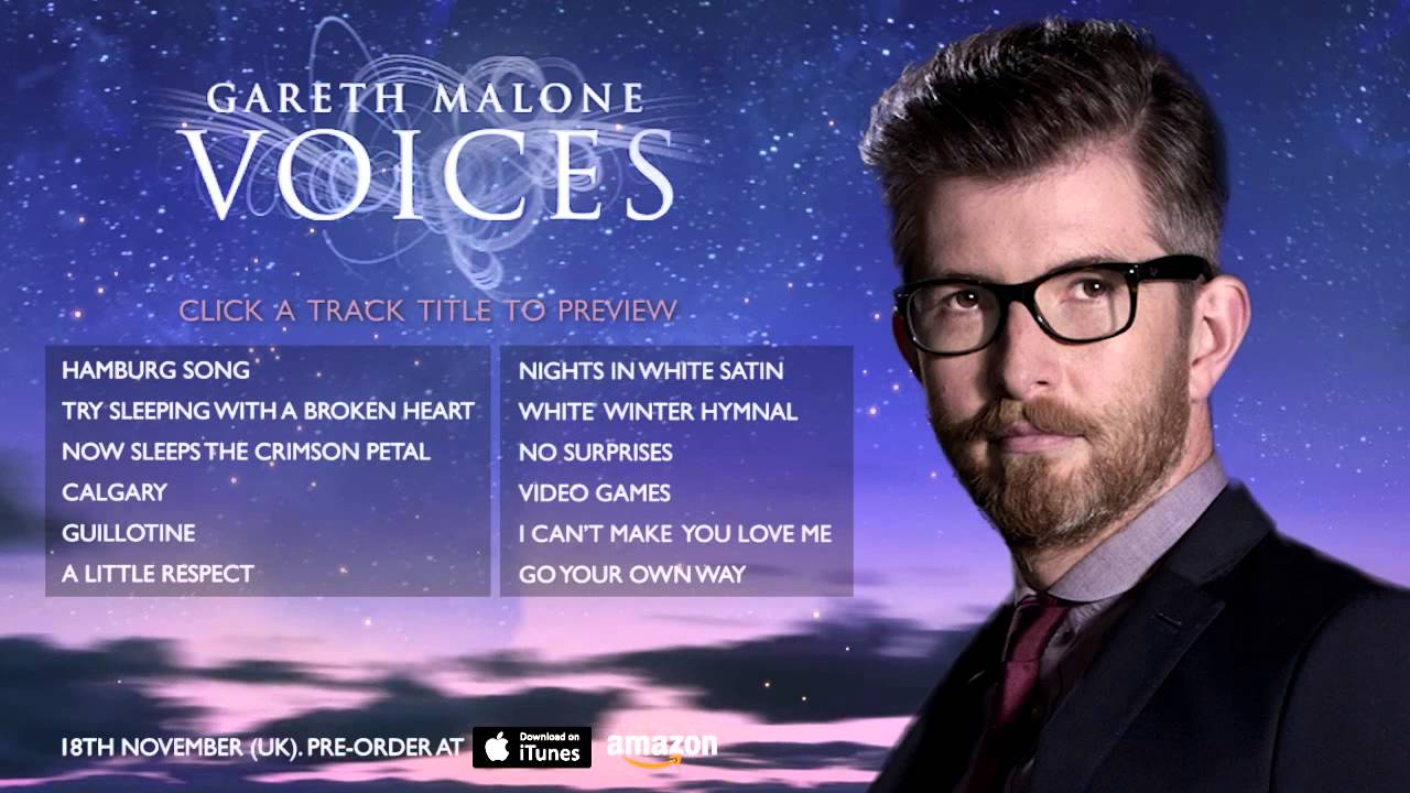 Gareth Malone Voices The Classical EP