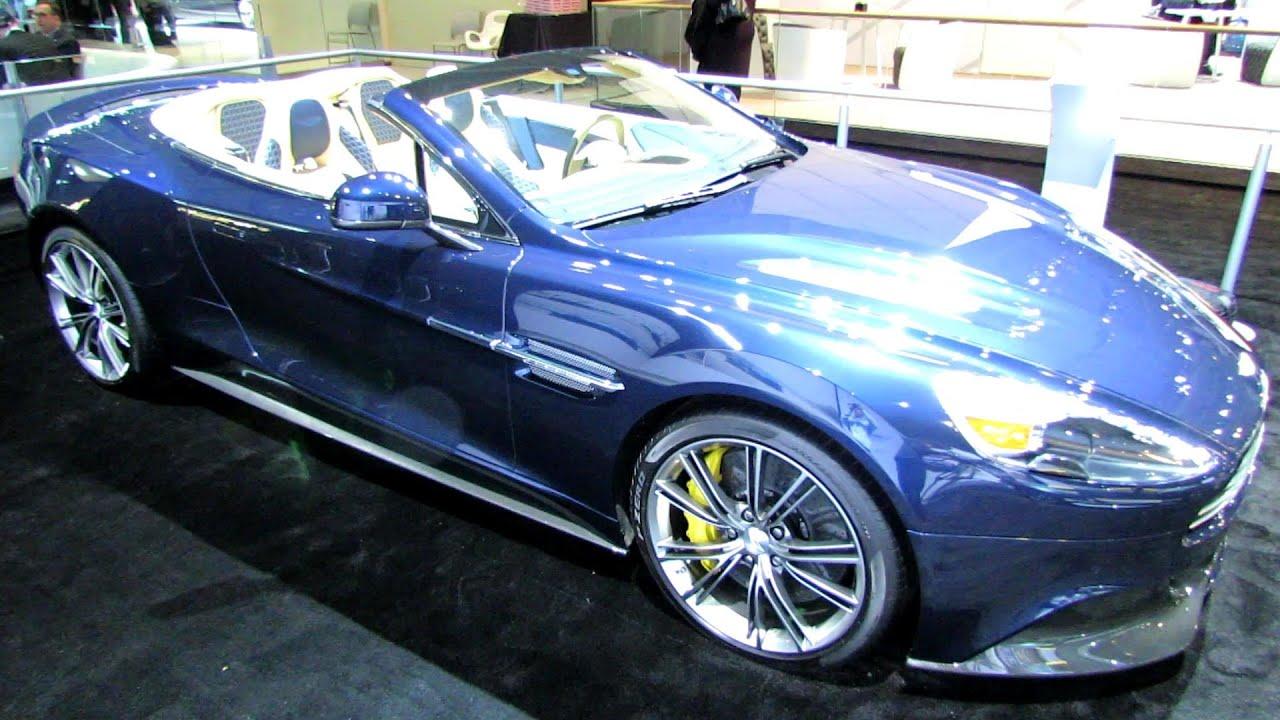 2014 Aston Martin Vanquish Volante Exterior And Interior