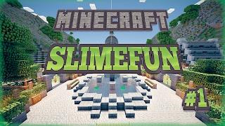 SO MANY CUSTOM ITEMS! - Minecraft SLIMEFUN Server #1
