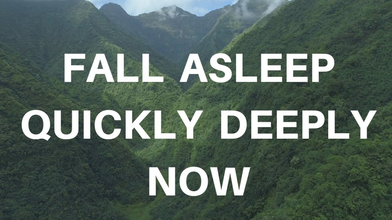 Fall Asleep Quickly Deeply Now Music Version A Guided Sleep Meditation To Help You Sleep Deeply Youtube