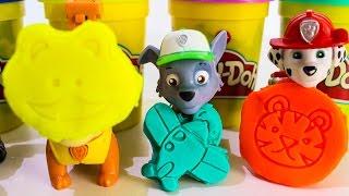 ЩЕНЯЧИЙ ПАТРУЛЬ Новые серии Развивающие мультики для детей Плей До Видео с игрушки Щенячий патруль