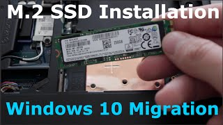 Alienware M.2 SSD Installation & Windows 10 Migration