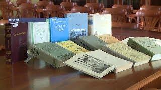 Нац. библиотека РС(Я) показала уникальное издание произведения Николая Мординова «Сааскы кэм»