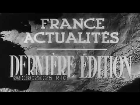 1942 French newsreel,  Actualités Derniére Edition, Dieppe Raid (full)