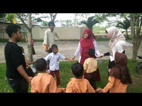 Playing with kids having fun