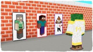 ¡NO ELIJAS LA PUERTA EQUIVOCADA! Alexbrine, Herobrine y Cacabrine en Minecraft