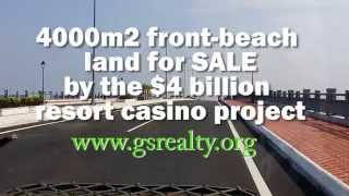 BEACH FRONT LAND for SALE 4000m2 from HOI AN, VIETNAM