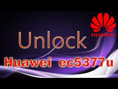 Unlock Huawei EC5377u And Huawei E5330 With Old Huawei Unlock Calculator