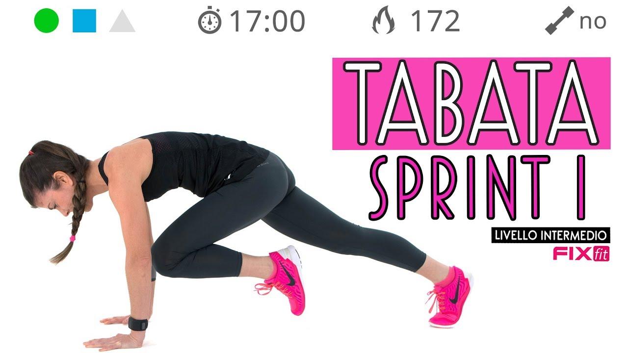sprint per perdere grasso addominale