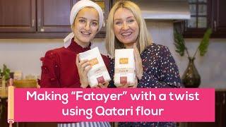 Fatayer recipe with Qatari flour!