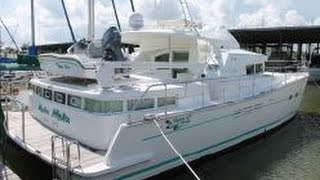 SOLD -Lagoon 43 Power Cat For Sale - Sea Lake Yachts, Kemah, TX