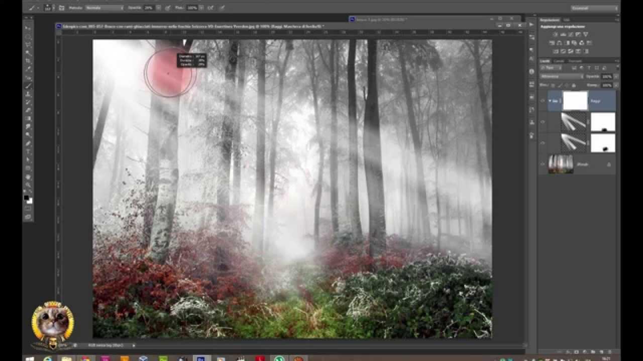 Photoshop In Pillole Tutorial04 Effetto Raggi Di Luce