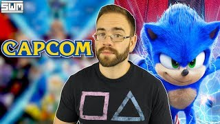 BIG Capcom Games Could Be Set For Reveal And SEGA Pushed For The Sonic Movie Redesign? | News Wave