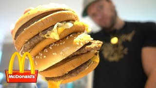The ONE BITE Challenge: 2 Big Macs (World Record)