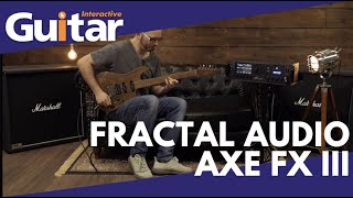With more than 260 amps, 2200 cabinets and 220 effects, the Axe-FX III from Fractal Audio can provide the exact sound of almost any rig you can imagine or ...